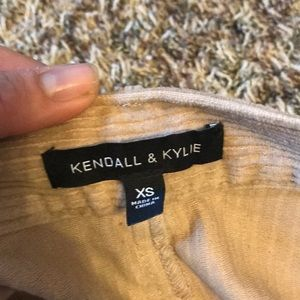 Kendall & Kylie Skirts - Kendall and Kylie tie suede skirt